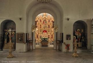 Успенская церковь. Большое Болдино