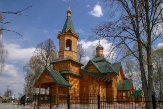 Глуховская церковь. с. Глухово, Воскресенский район