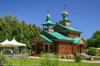 Церковь в честь Варнавы Ветлужского. п. Варнавино