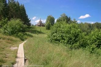 Церковь Иконы Божией Матери Казанская на озере Светлояр