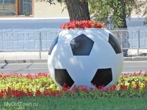 ЧМ-2018 по футболу. Волгоград. Проспект Рокоссовского
