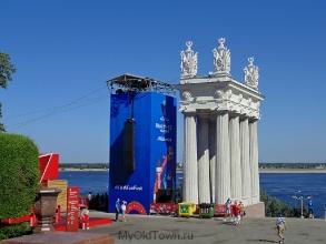 ЧМ-2018 по футболу. Волгоград. Набережная