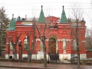 Волгоград. Мемориально-исторический музей. Фасад