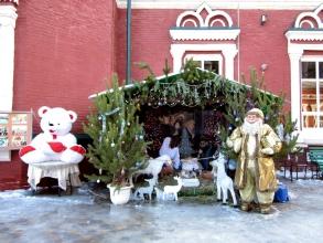 Казанский собор. Рождество 2015 год