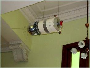Планетарий Волгограда. Макет космического корабля