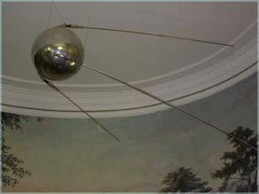 Планетарий Волгограда. Макет искусственного спутника земли
