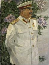 Мозаичный портрет Сталина. Волгоградский Планетарий