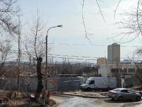 Волгоград Советский район. Строительная площадка. Фото