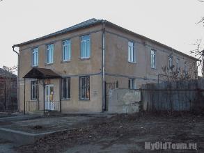 Улица Ухтомского дом 6. Фото старого здания детской школы искусств №8. Волгоград.
