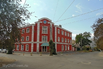Улица Донецкая. Вид от улицы Чапаева