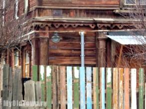 Улица Пугачёвская дом 11а.  Памятник архитектуры 19 века. Фото Волгограда
