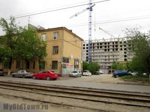 Улица Баррикадная.  Фото Волгограда