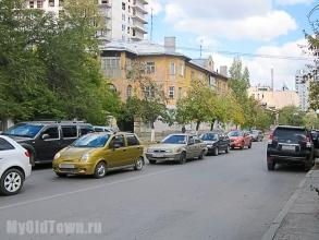 Улица Козловская.   Фото Волгограда