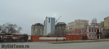 Улица Невская дом 1 и дом 3. Фото