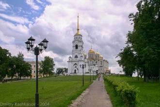 Успенский собор во Владимире. Фото 2004 года