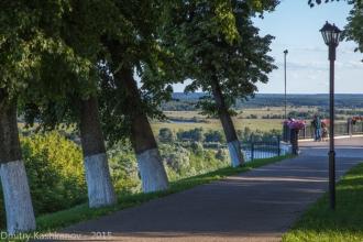Смотровая площадка в парке Пушкина. Фото Владимира