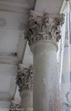 Колонны старого кинотеатра Родина. Дзержинск. Фото 2015 г.