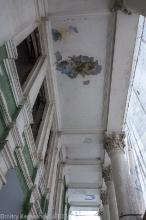 Дзержинск. Кинотеатр Родина. Разрушенное здание. Фото