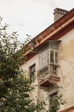 Старый балкон. Дом 13. г. Дзержинск. Фото
