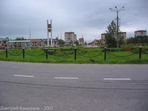 Дзержинск. Северные ворота. Фото 2003 года
