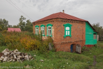 Село Толба. Фотографии старых домов