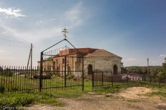 Церковь Дмитрия Солунского. Село Толба. Вид с дороги