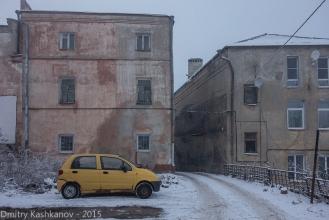Во дворе дома №4 по улице Ильинской. Нижний Новгород. Фото