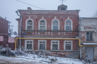 Старые дома Нижнего Новгорода. Улица Ильинская, дом 7. Фото
