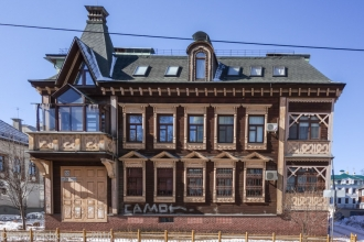 Дом 53 по улице Студеной в Нижнем Новгороде. Фото