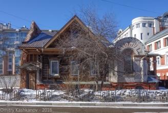 Дом 39 по улице Студеной в Нижнем Новгороде. Фото