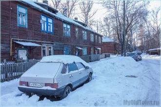Деревянный дом №12. Улица Профинтерна. Нижний Новгород