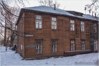 Улица Профинтерна, дом 11. Нижний Новгород. Старые деревянные дома