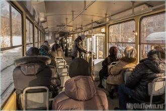 В старом трамвае. 2015 год. Улица Профинтерна. Нижний Новгород