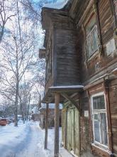 Новосолдатская, 12. Балкон