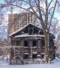 Ул. Новосолдатская. Сгоревший деревянный дом