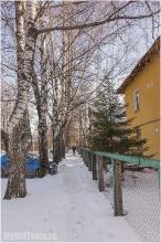 Улица Афанасьева. Нижний Новгород. Зимнее фото