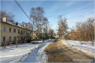 Улица Афанасьева. Оазис тишины в большом городе. Фото