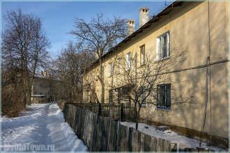 Тихие дворики. Улица Афанасьева. Нижний Новгород. Фото