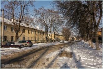 Солнечный день на улице Афанасьева. Нижний Новгород. Фото