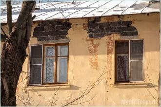 Старые стены. Улица Афанасьева. Нижний Новгород. Фото