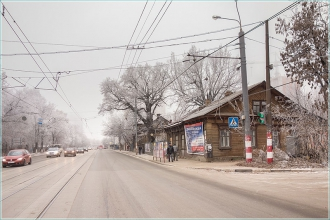 Старые дома на улице Белинского. Фото 2014 года