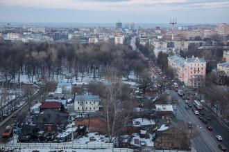 Старые дома на Славянской. Фото с дома 64 по ул. Белинского