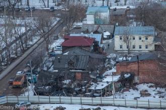 Старые дома между Славянской и ул. Белинского. Фото