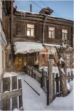 Плотничный переулок. Фото старых домов. Нижний Новгород