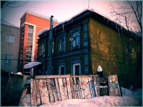 Улица Грузинская, дом 3б. Фото Нижнего Новгорода