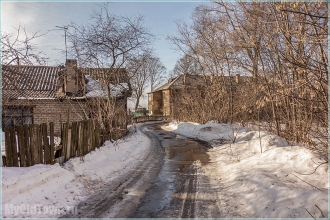 Дальняя улица. Нижний Новгород. Фото старых домов