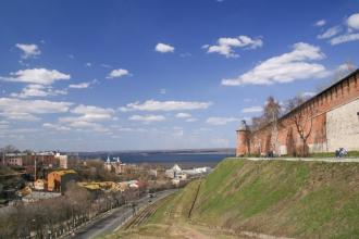 Нижегородский Кремль. Зеленский съезд. Тайницкая башня. Фото
