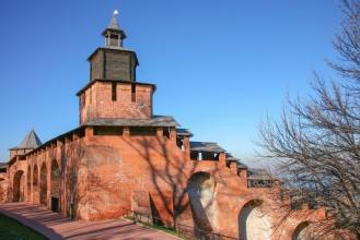 Часовая башня. Нижегородский Кремль. Фото