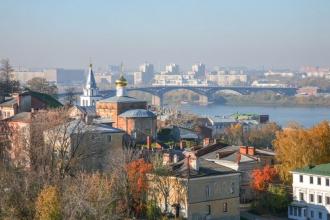 Церковь Ильи Пророка и Ярмарочный мост. Фото