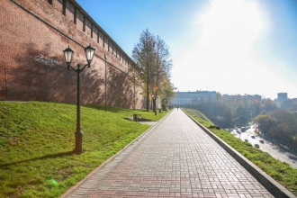 Нижегородский Кремль. Зеленский съезд. Фото